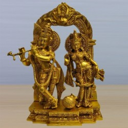 Radha Krishna on Peeta