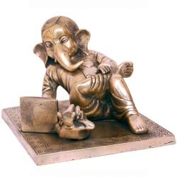 Modern Ganesha with Laptop