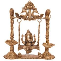 Ganesha Jhoola with Deepa