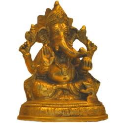 Blessing Ganesha Statue