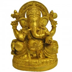 Ganapathi Brass Statue