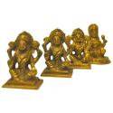 Lakshmi Brass Idol