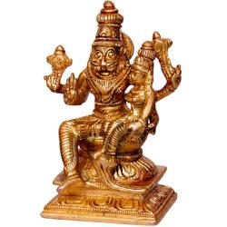 Lakshmi Narasimha Brass Statue