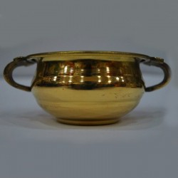 Brass urli with Handles on the sides