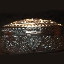 Aluminium Jewellery box with big lock