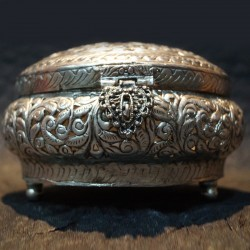 Antique fininsh Aluminium jewellery box