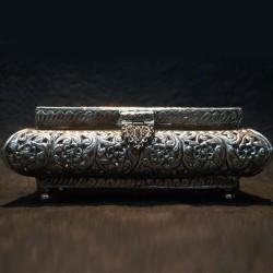 Aluminium designed jewellery box