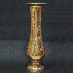 Beautiful hand craft brass flower vase
