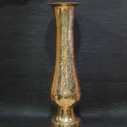Long shining brass flower vase online