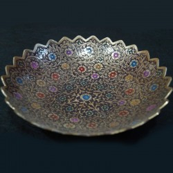 Antique finish Brass fruit bowl