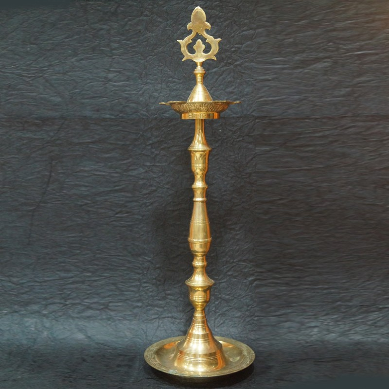 Designed Kerala Brass deepa