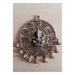 Ganesha Wall hanging with bells
