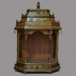 Wooden puja Temple online