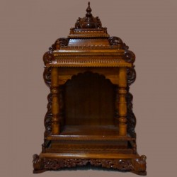 Wooden puja mantapa online