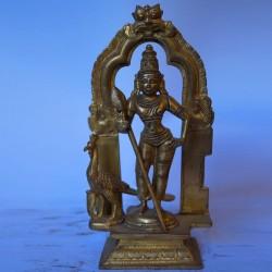 Lord Subramanya with peeta prabhavali