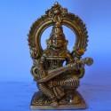 Saraswati brass statue for sale online