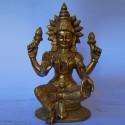 Lakshmi devi brass idol online