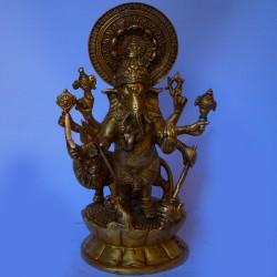 Dhrusti Ganapathi brass statue