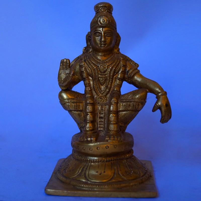 Swamy Ayyappa brass statue online