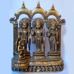 Beautifully carved Ram Darbar