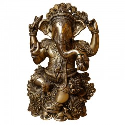 Vigneshwara Brass Statue