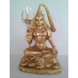 Lord Shiva 10 inches Brass Statue