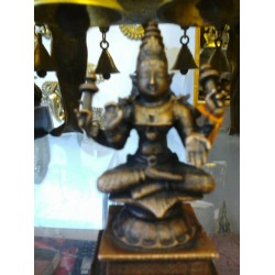 Goddess Lakshmi Copper statue