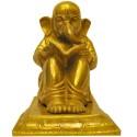 Gandhi Ganesha Brass Statue