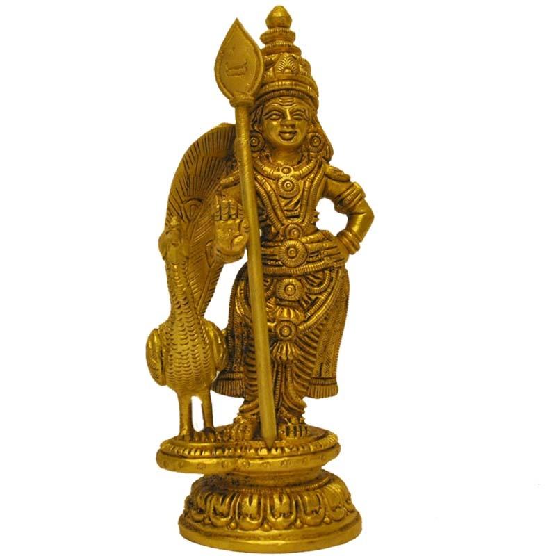 Murga/Subramanya with Peacock