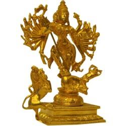 Maa Kaali Brass Statue