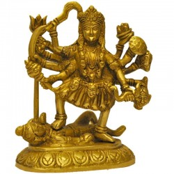 Bhadra Kali Brass Statue