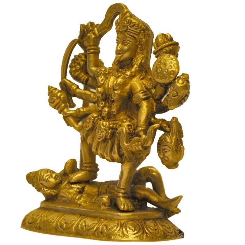 maha kali  goddess kali statues  brass statues of bhadra