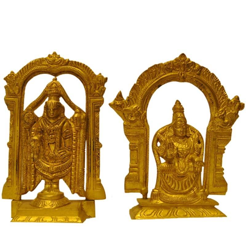 Balaji with Padmavathi