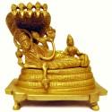 Anantha Padmanabha Brass Statue
