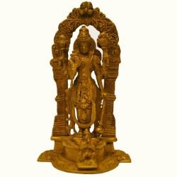 Blessing Chennakeshwara Brass Idol