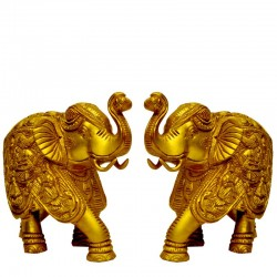 Elepahants with Ganesha Motiff