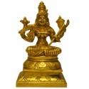 Rajarajeshwari on Peetha Brass Idol