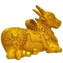 Nandi brass statue 8.9 inches width online