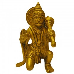 Sitting Hanuman Blessing