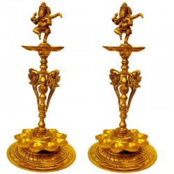 Ganesha Lamp - 2 Pieces