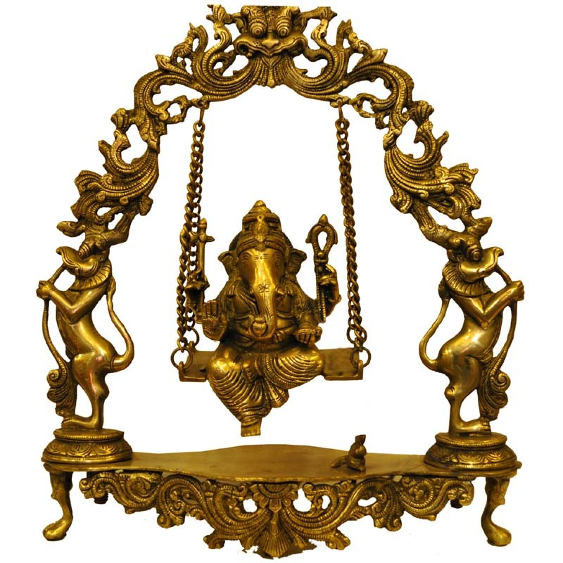 Ganesh on Swing (Jula Ganesh)
