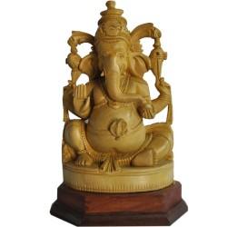 Balmuri Ganesha Wooden Statue