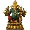 Ekadanta Brass Statue