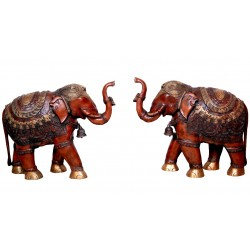 Brass Elephants