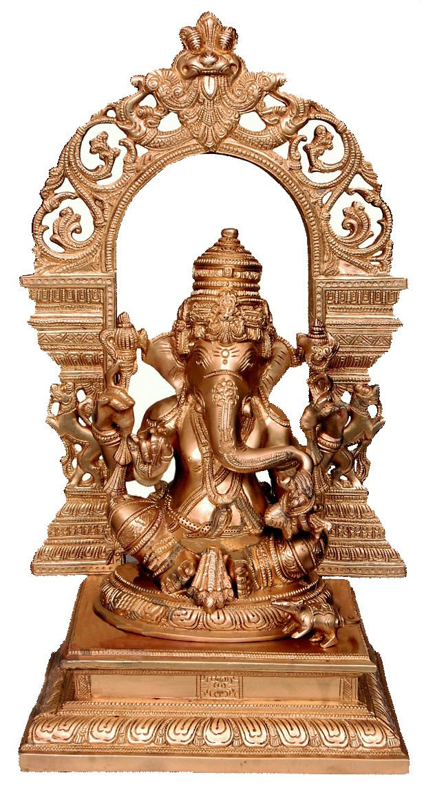 Ganapathi Brass Statue
