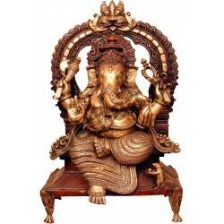 Ganesha on Peeta