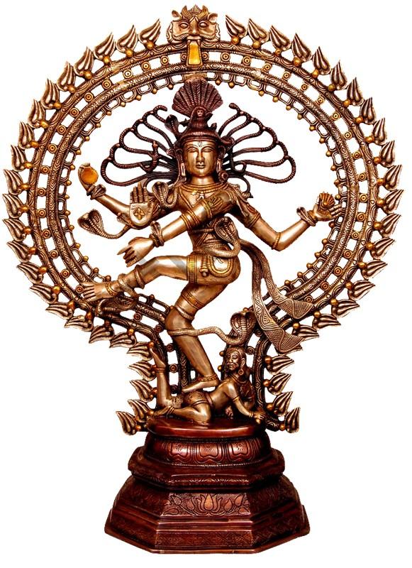 Natya Natarja Brass statue