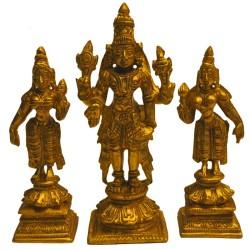 Srinivasa, Sridevi, Bhudevi