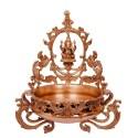Lord Ganesha Designer Urli of Brass
