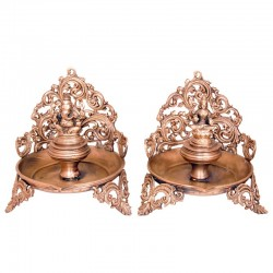 Designed Lord Ganesha & Lakshmi Deepa